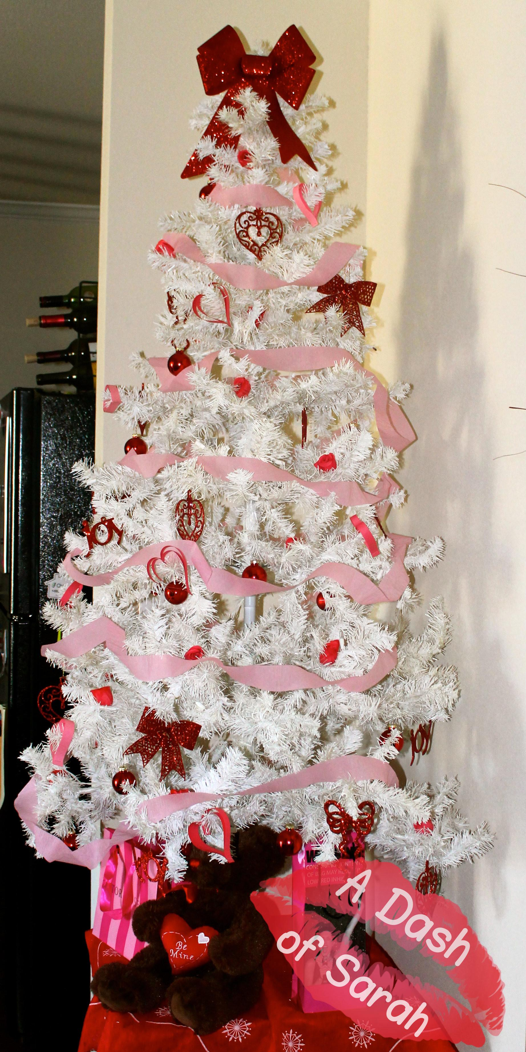 Valentine Day Decor Tree Dash Sarah