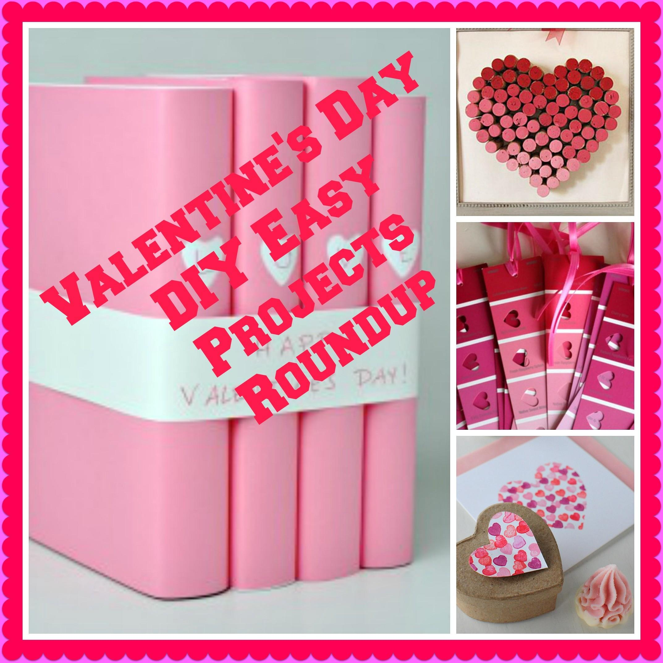 Valentine Day Diy Easy Projects Giveaway Party