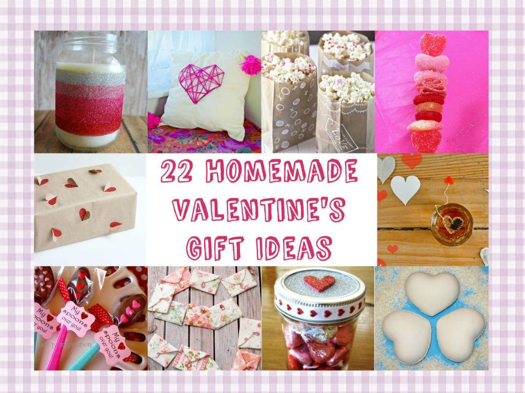 Valentine Day Homemade Gift Ideas