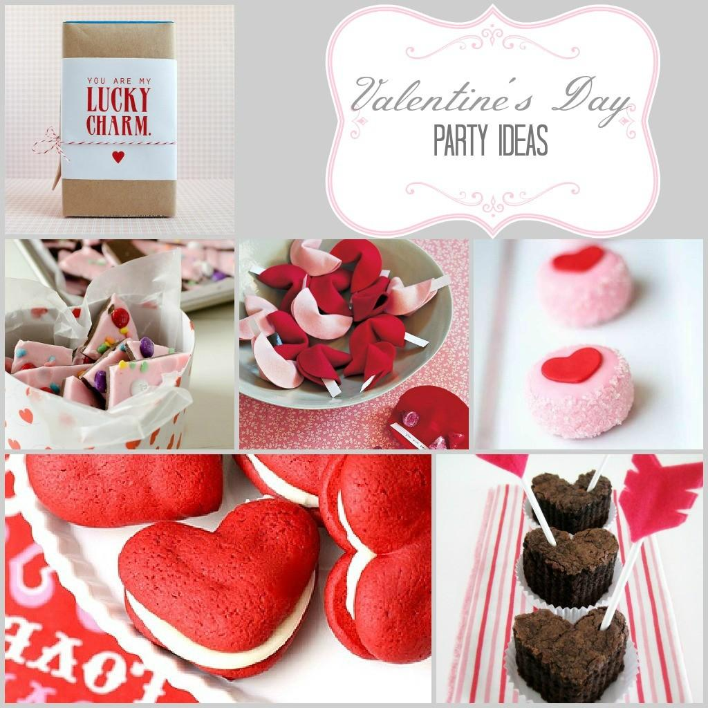 Valentine Day Ideas Parties Pennies