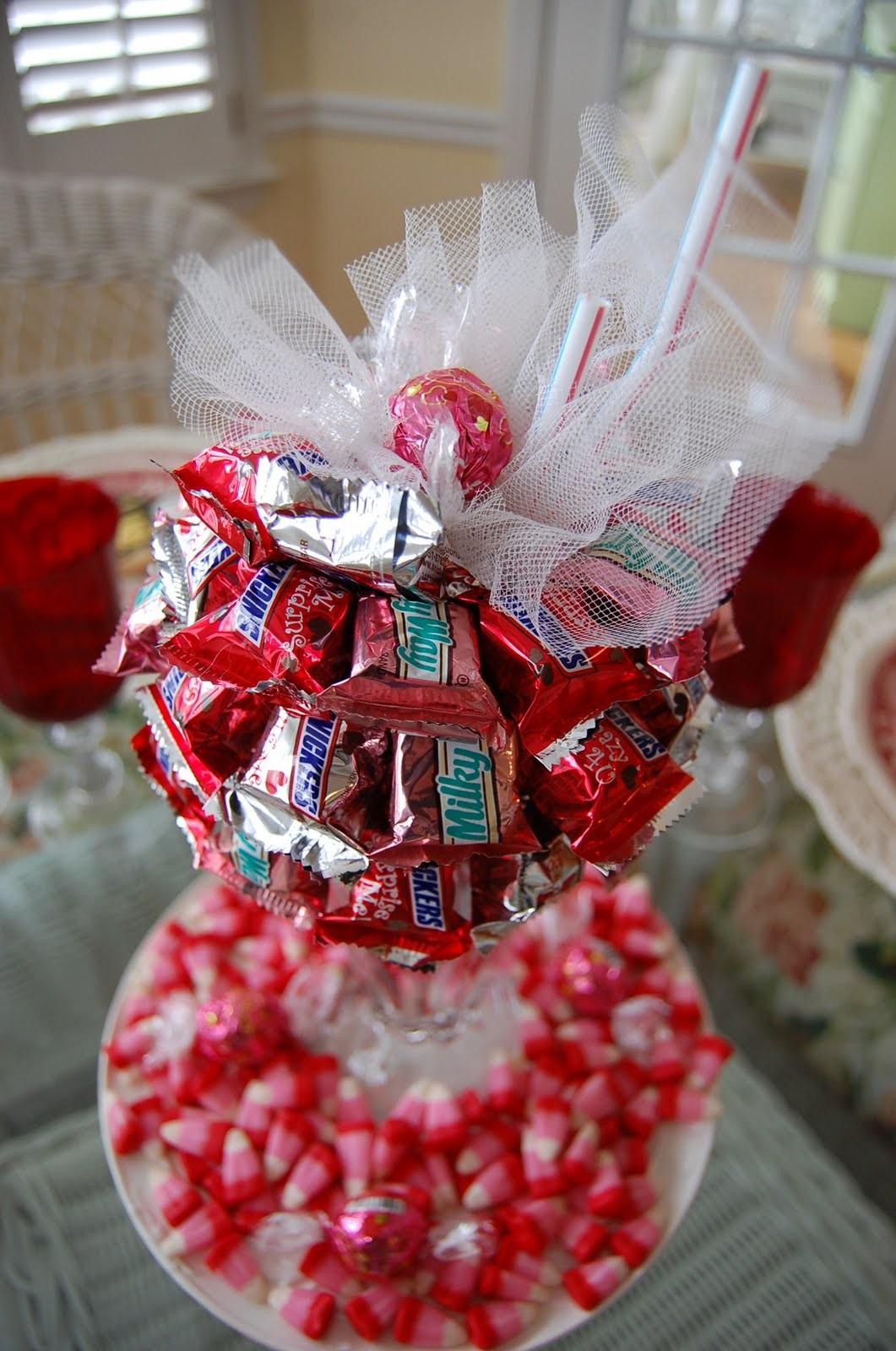 Valentine Day Tablescape Table Setting Diy Candy