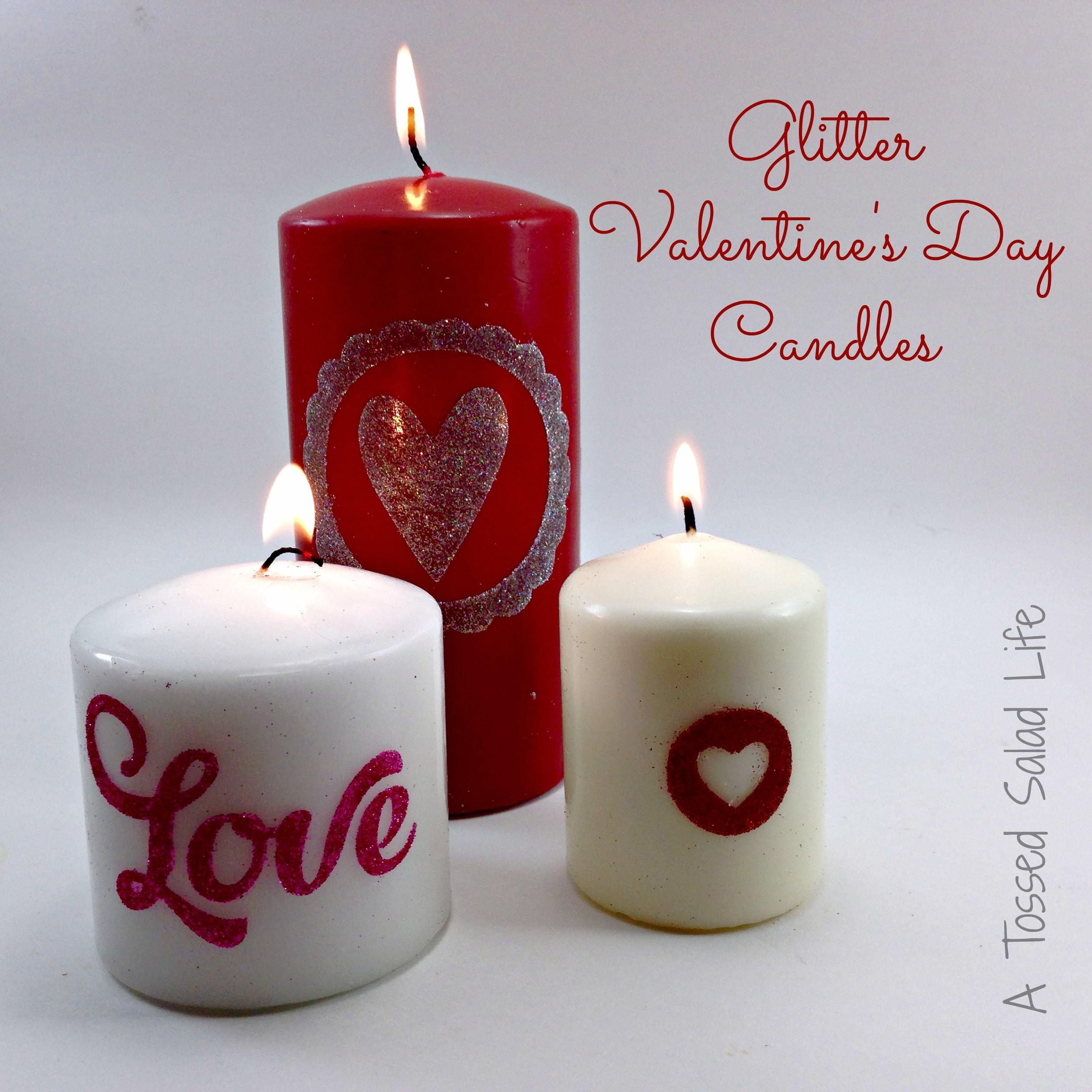 Valentines Candles Day 108 Dining Table