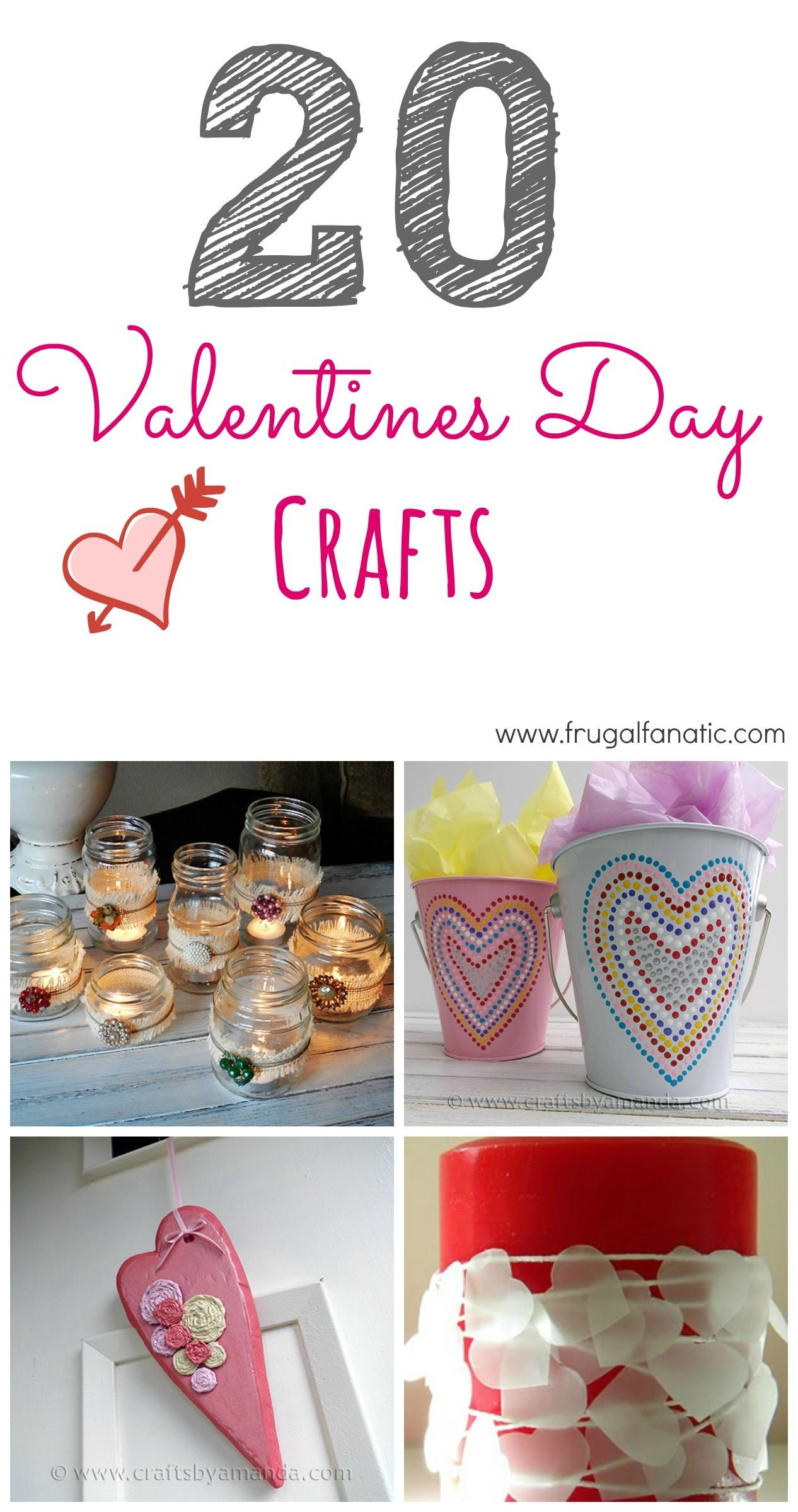 Valentines Day Crafts Frugal Fanatic