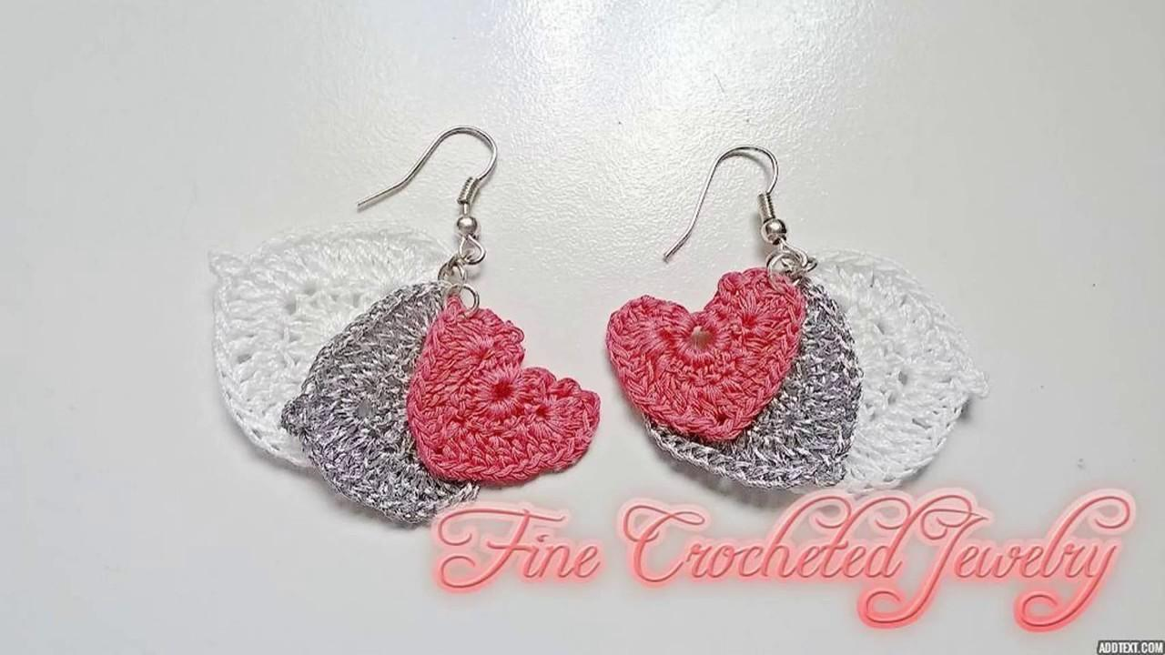 Valentines Day Crochet Crafts Diy Projects