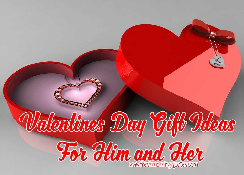 Valentines Day Gift Ideas Him Her Freshmorningquotes