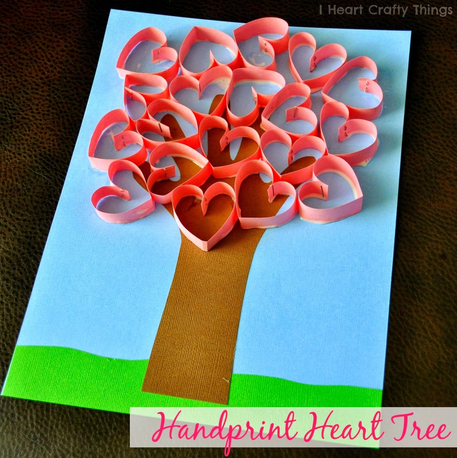 Valentines Day Hand Art Crafts Kids Tgif