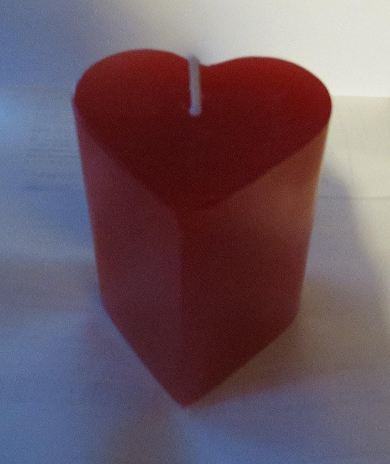 Valentines Day Heart Shaped Candles Valentine Wikii