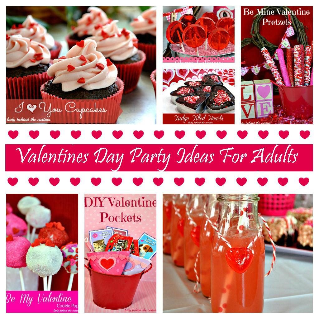 Valentines Day Party Ideas Adults
