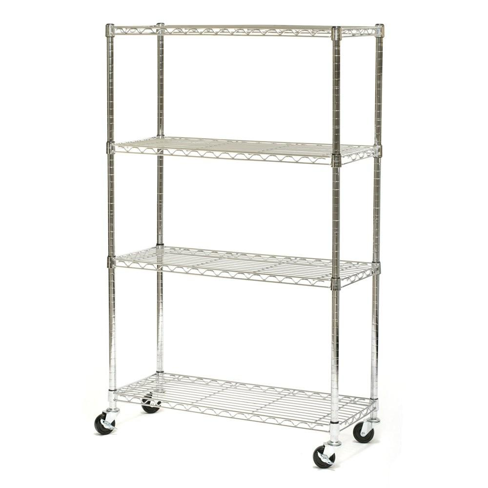 Vancouver Classics She Z Shelf Chrome Wire Shelving
