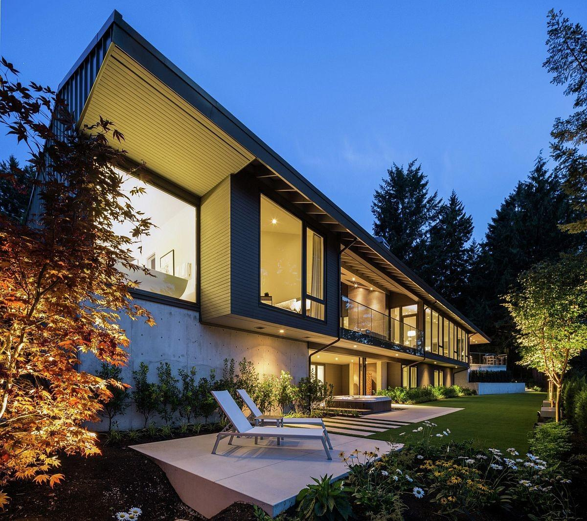 Vancouver Home Randy Bens Architect Extends Its Living