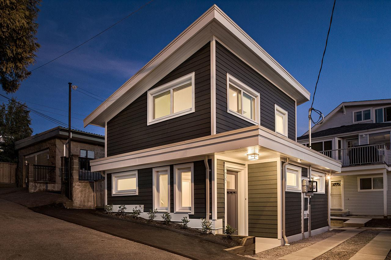 Vancouver Laneway House Designed Rooms