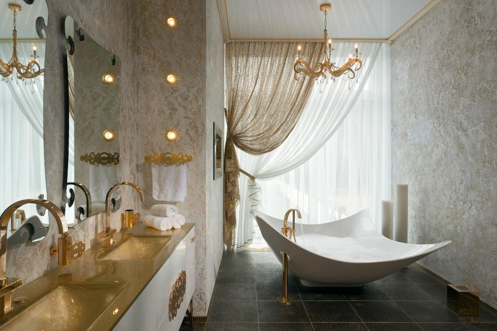 Variety Bathroom Design Ideas Showing Glamorous