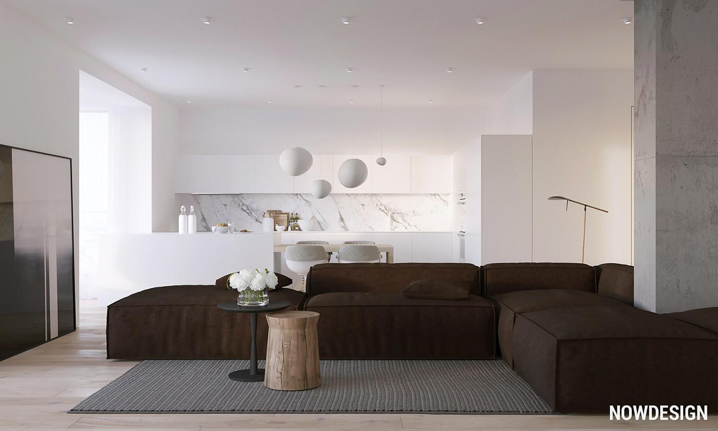 Variety Minimalist Apartment Designs Which Suitable