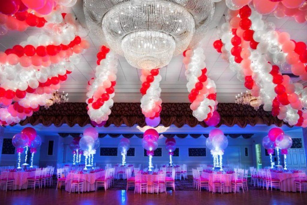 Various Balloon Decoration Wedding Party