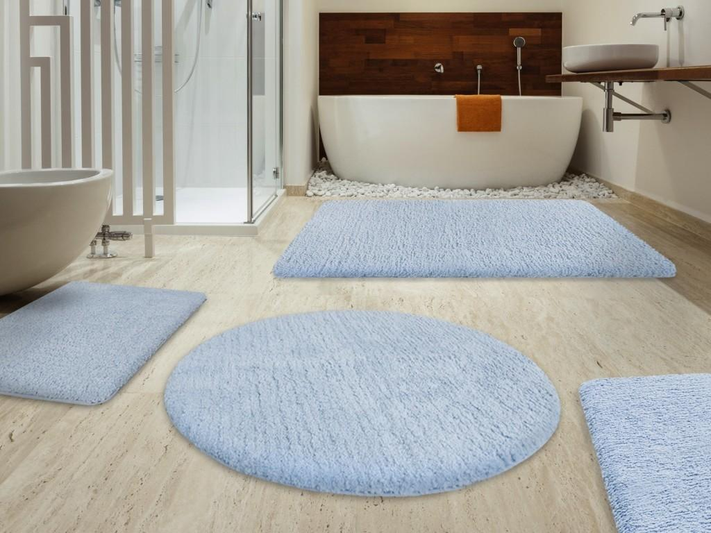 Various Bathroom Rugs Make Different