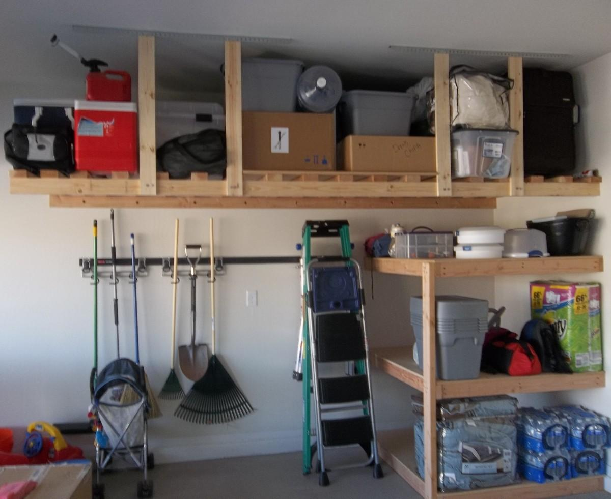 Various Garage Storage Ideas Silo Christmas Tree Farm