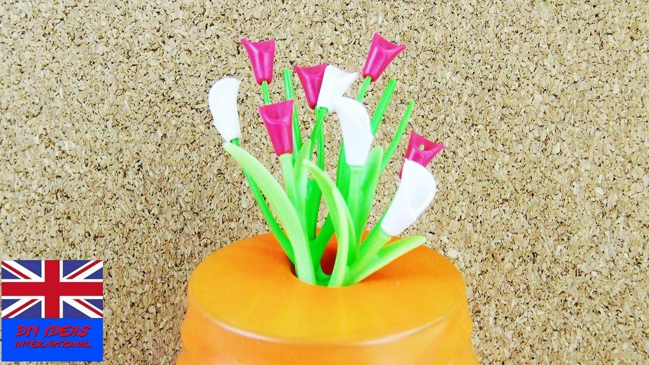 Vase Decoration Idea Flower Power Kids Make Your