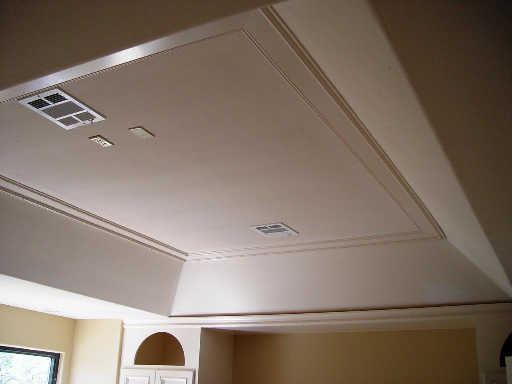 Vaulted Ceiling Crown Molding Designs Modern