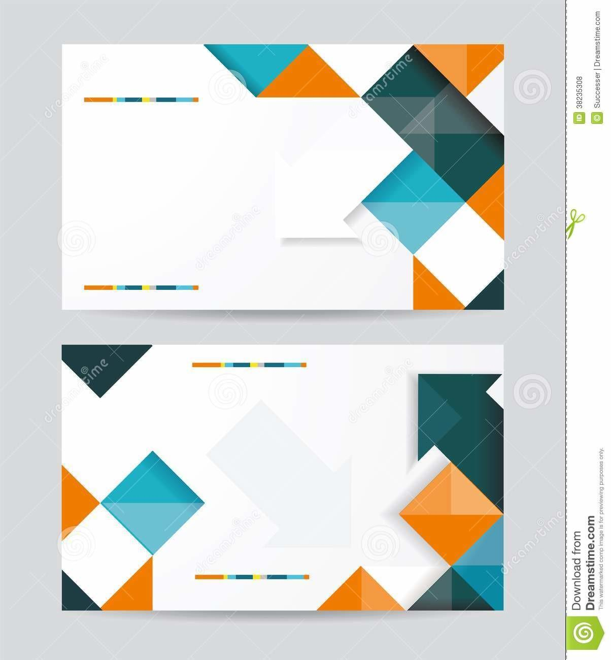 Vector Template Design Cubes Arrows Eleme Royalty