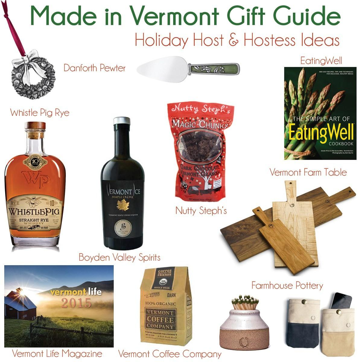 Vermont Made Holiday Gift Guide Host Hostess Gifts