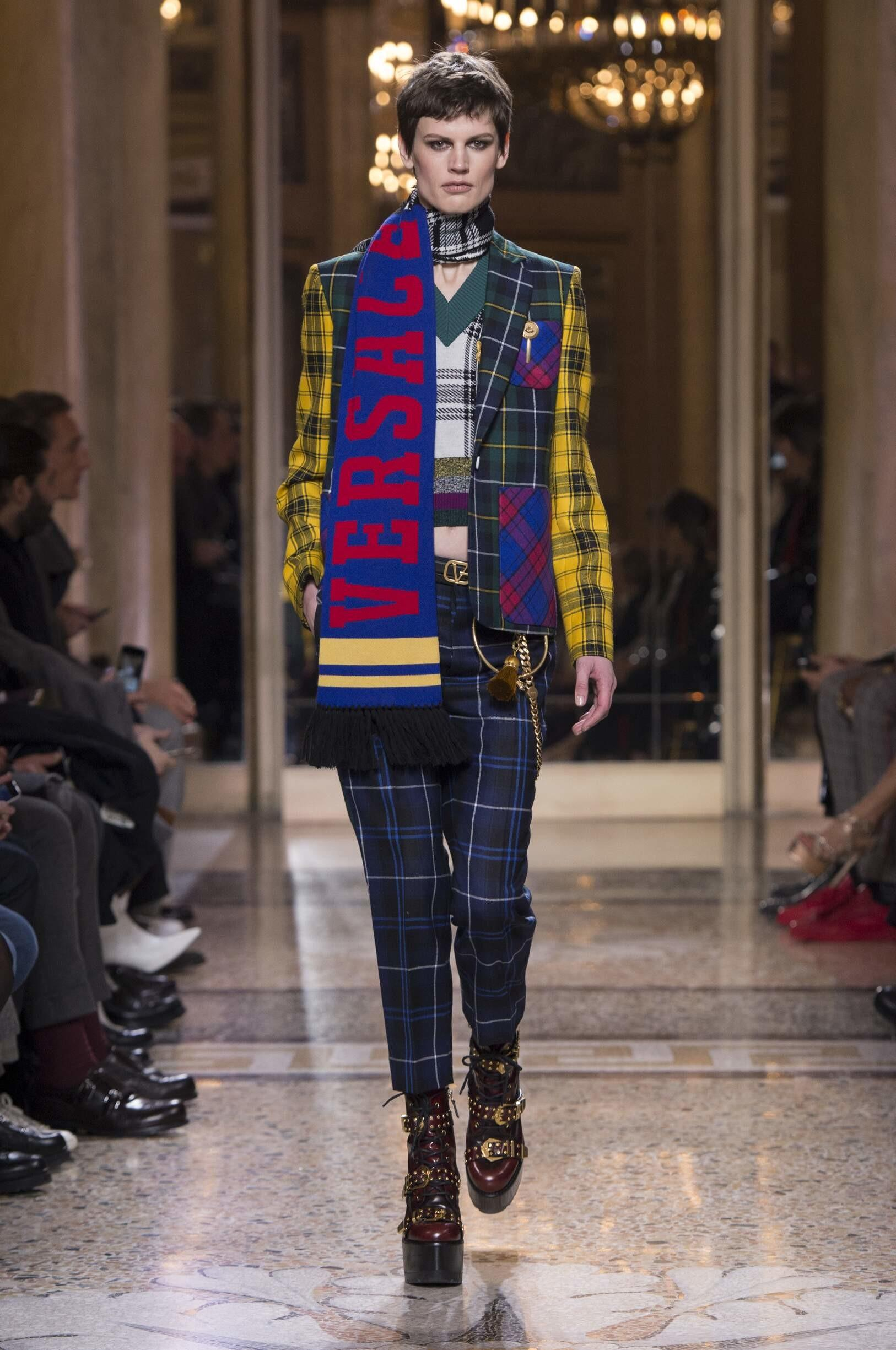 Versace Fall Winter 2018 Men Collection Skinny Beep