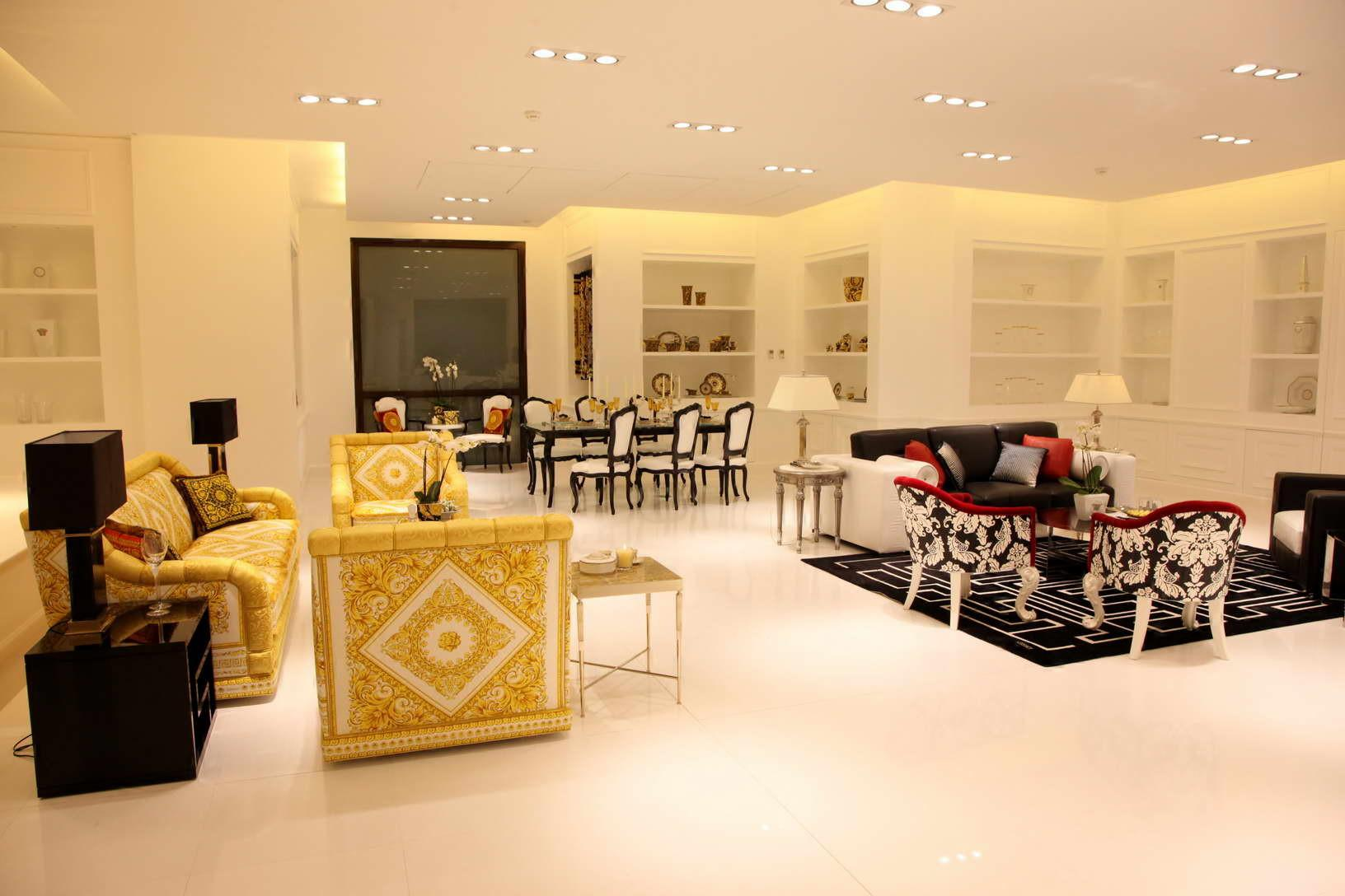 Versace Home Opens New Boutique Downtown Beirut