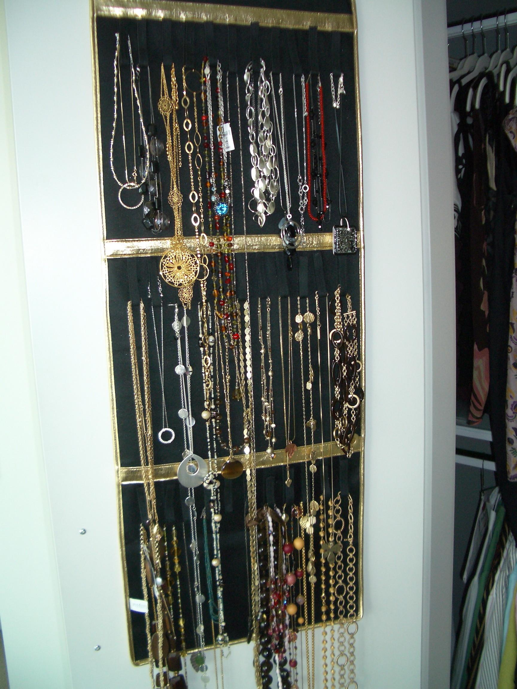 Vertical Jewelry Organizing San Diego Professional