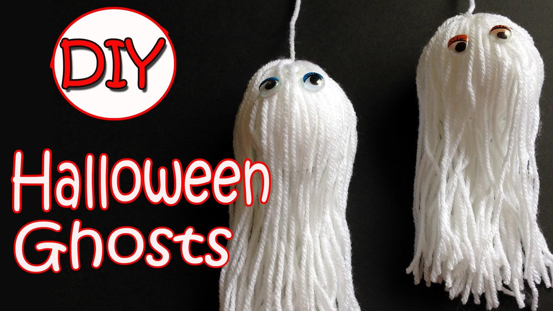 Very Easy Halloween Decorations Ghosts Ana Diy