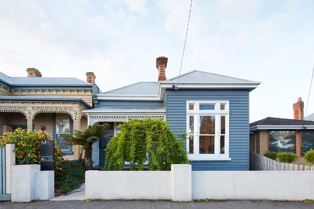 Victorian House Addition Rear Extension Wooden Box