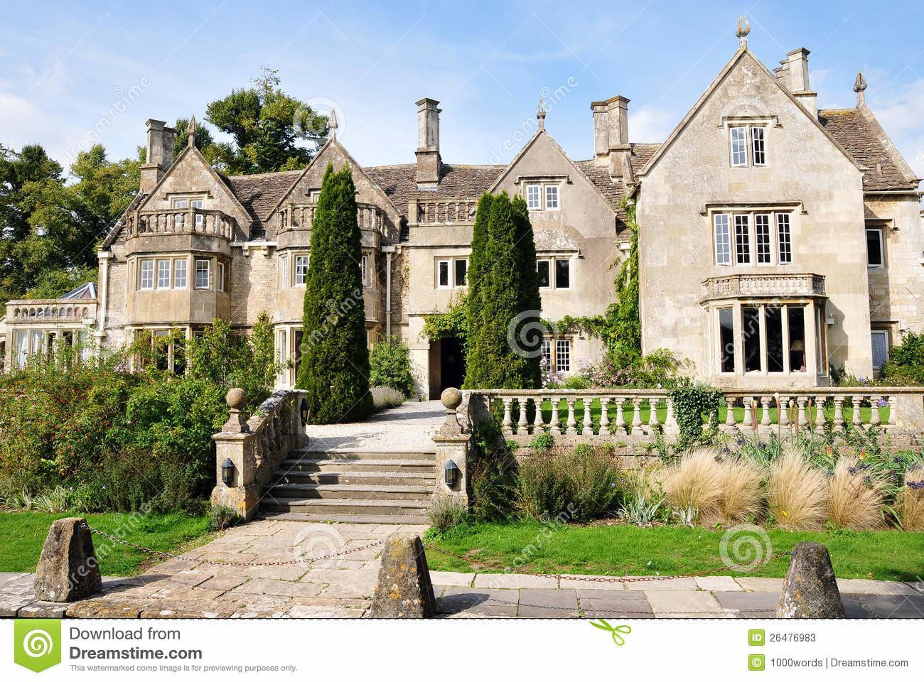 Victorian Mansion Stock English British
