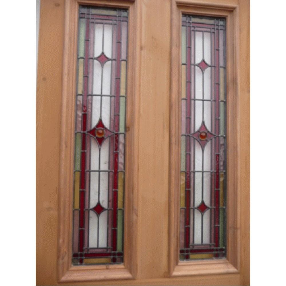 Victorian Stained Glass Doors Sd061 Original