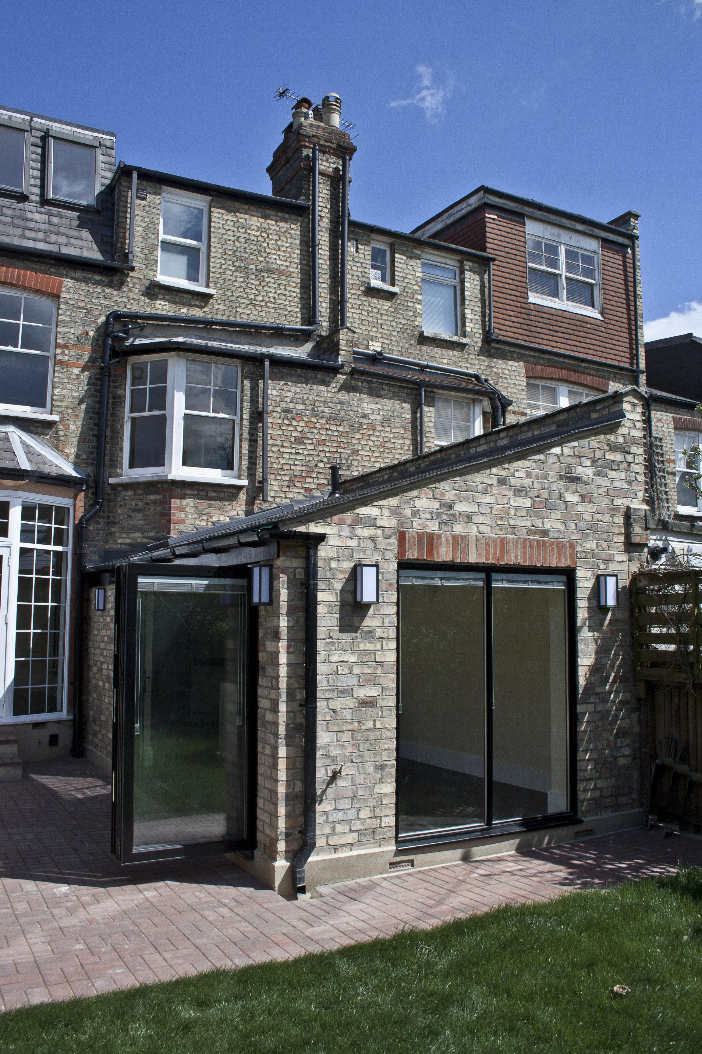 Victorian Terraced House Rear Extension London N10
