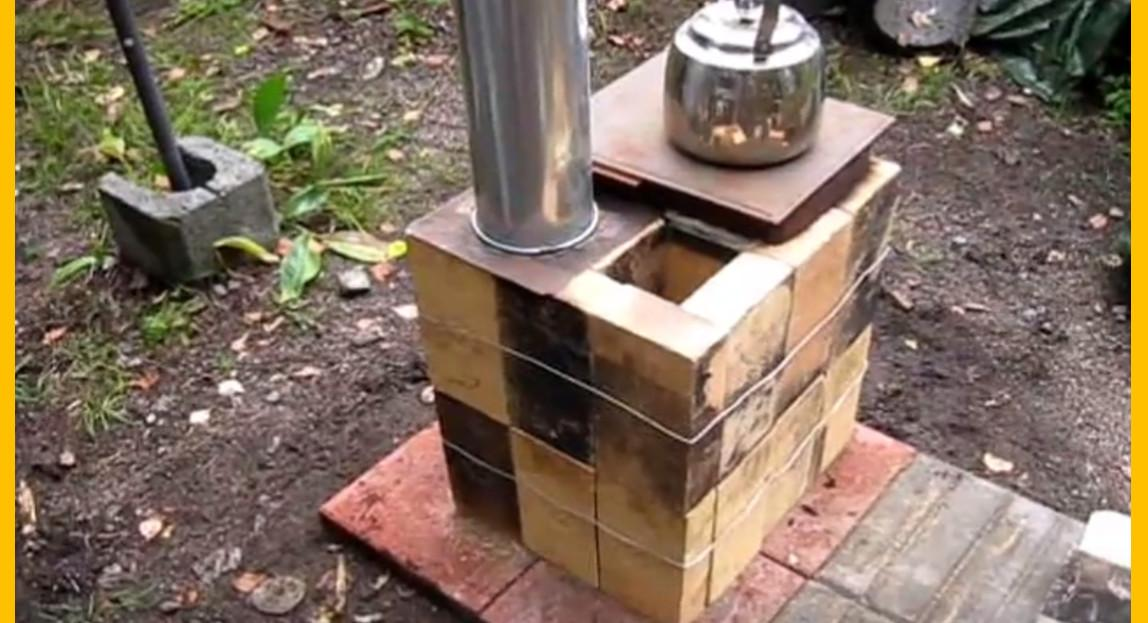 Video Brilliant Diy Your Own Brick Box Rocket Stove