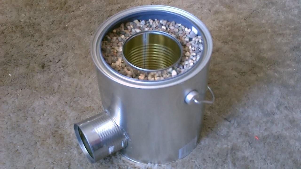 Video Make Diy Rocket Stove Survival