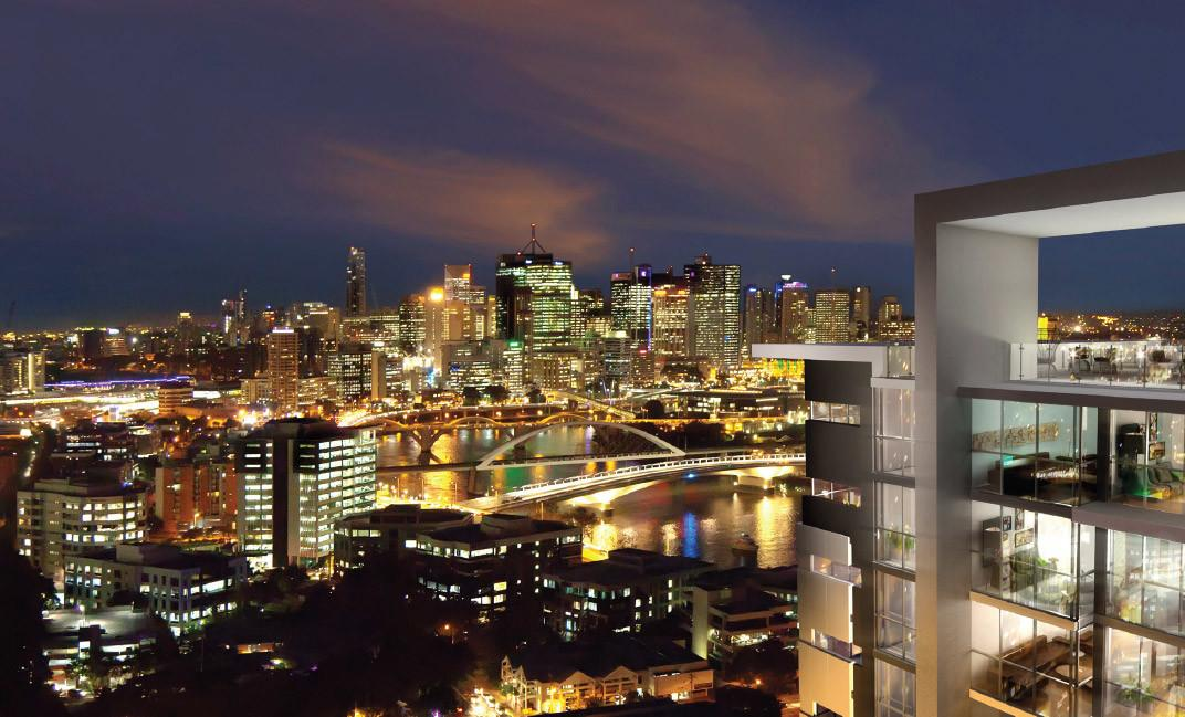 Views Brisbane City Beyond Milton Residences