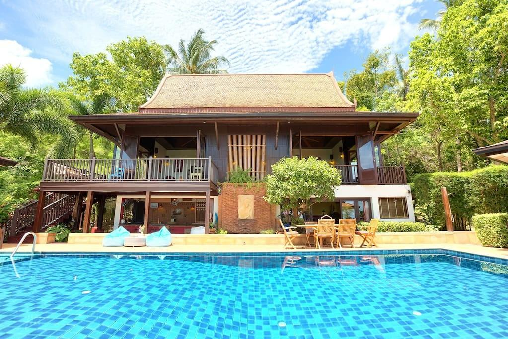 Villa Thai Teak Stunning Sunsets Villas Rent
