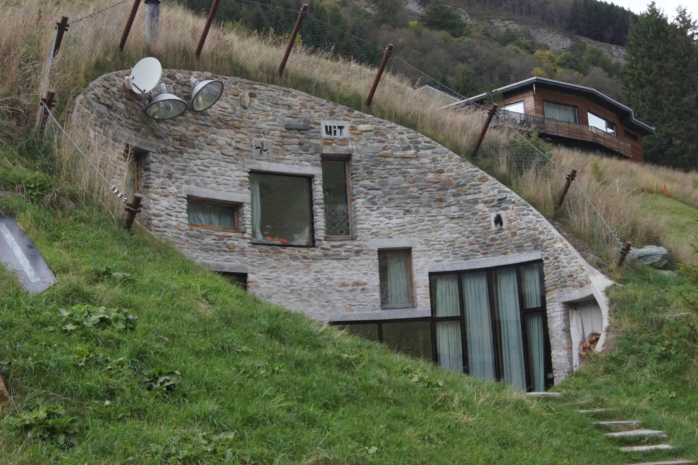 Villa Vals Switzerland Architecture