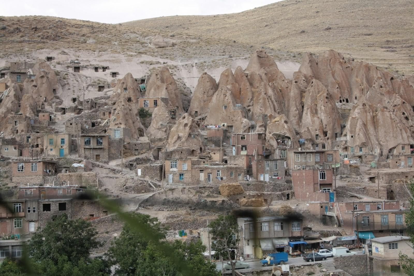 Village Carved Out Stone Kandovan Unbelievable Info