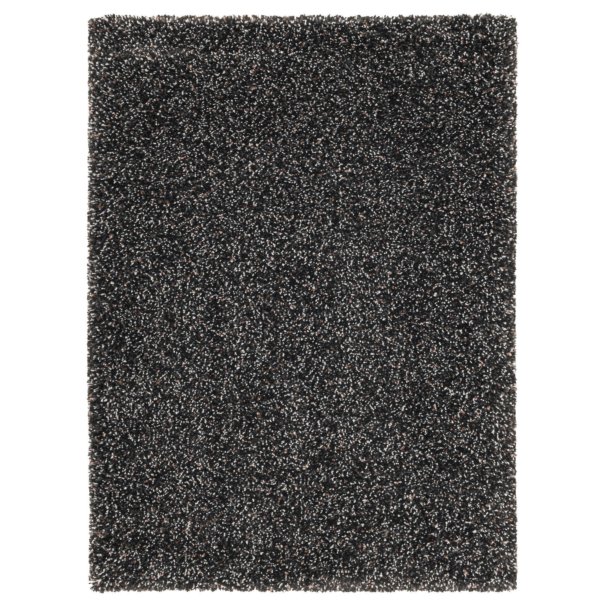 Vindum Rug High Pile Dark Grey