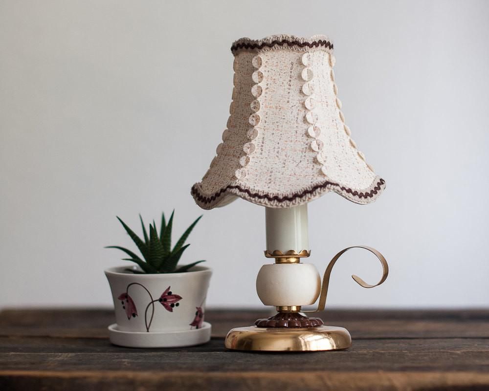 Vintage Bedside Lamp Small Table Night Light