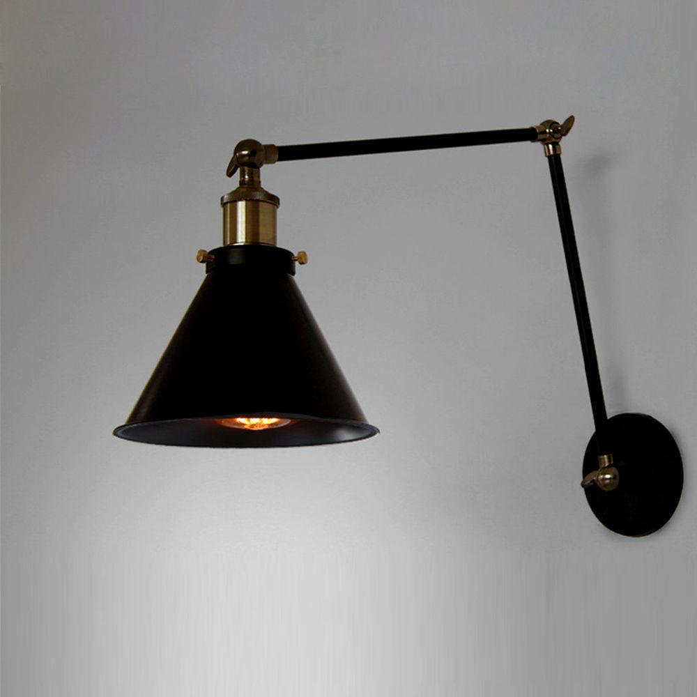 Vintage Ceiling Light Lampshade Metal Pendant Wall Sconce