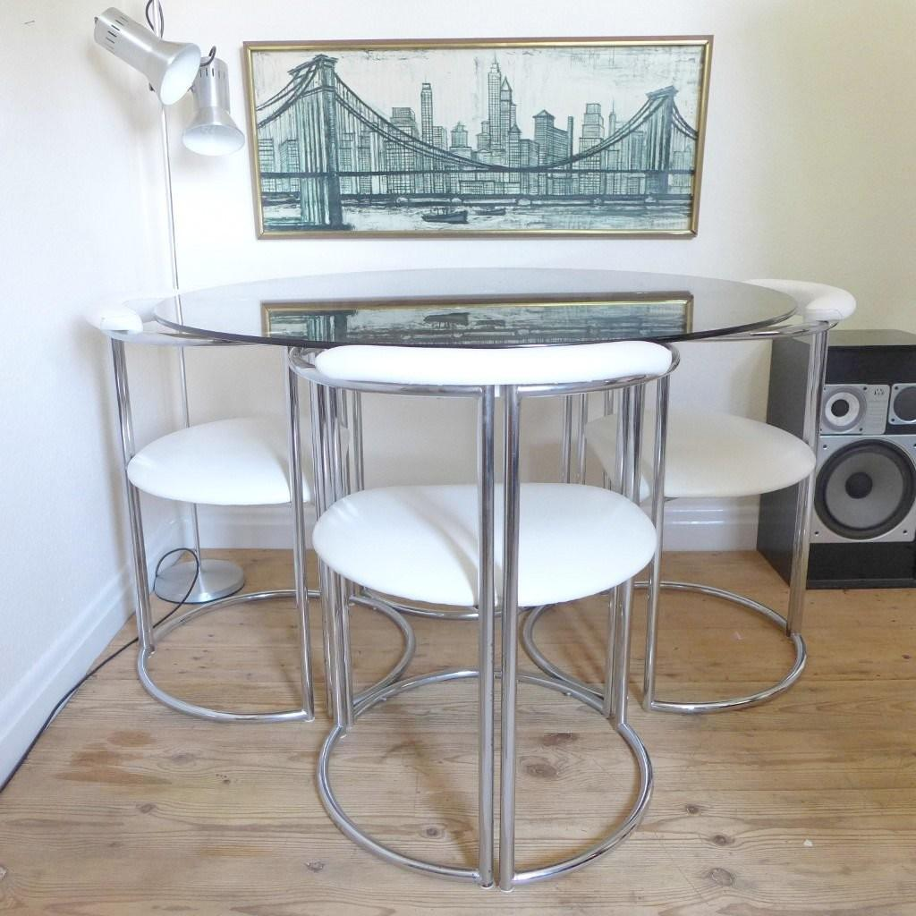 Vintage Chrome Chairs Home Design