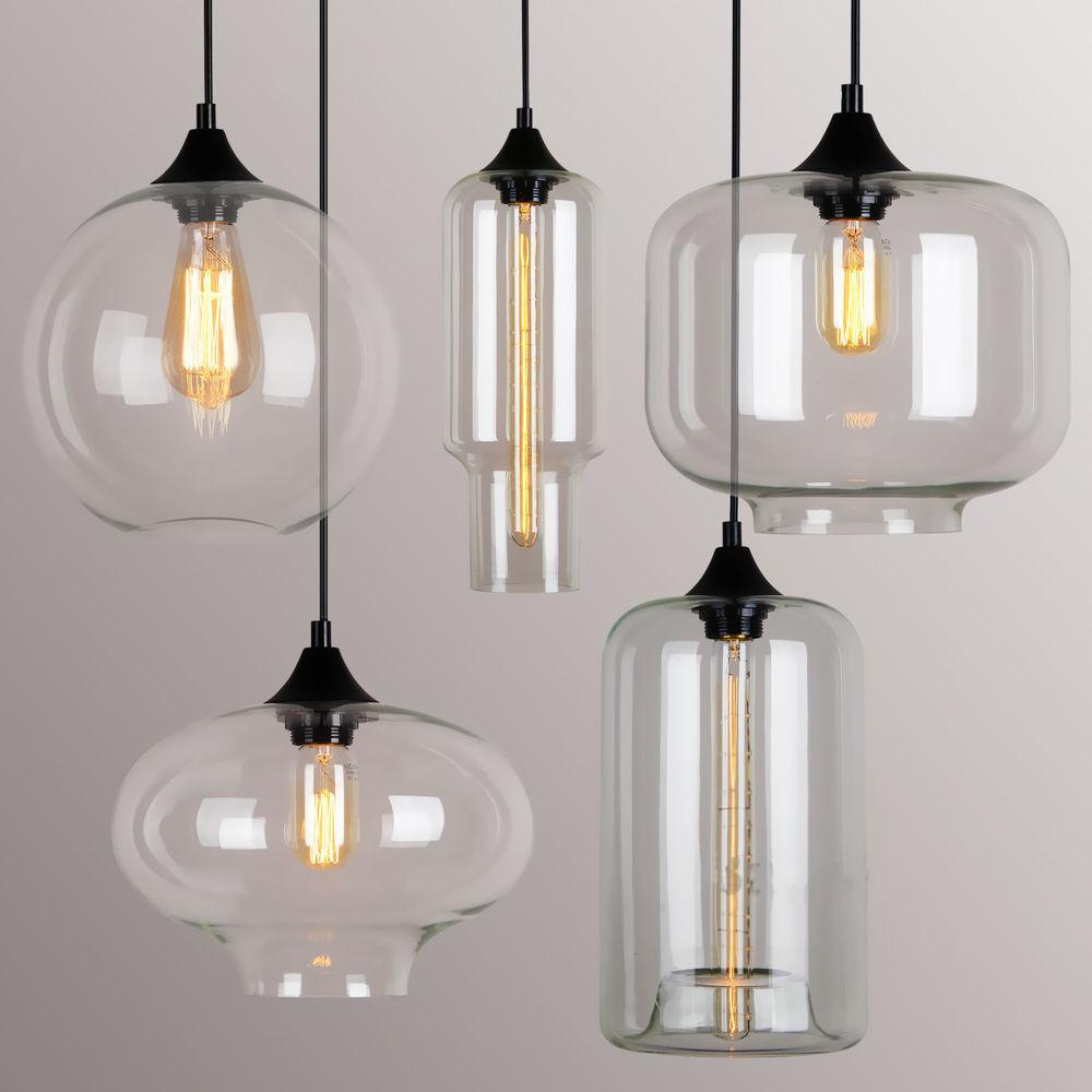 Vintage Classic Diy Ceiling Lamp Light Glass Multi Pendant
