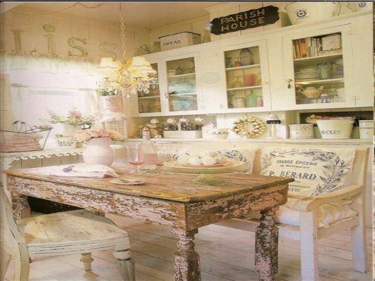Vintage Country Decorating Ideas French Shabby