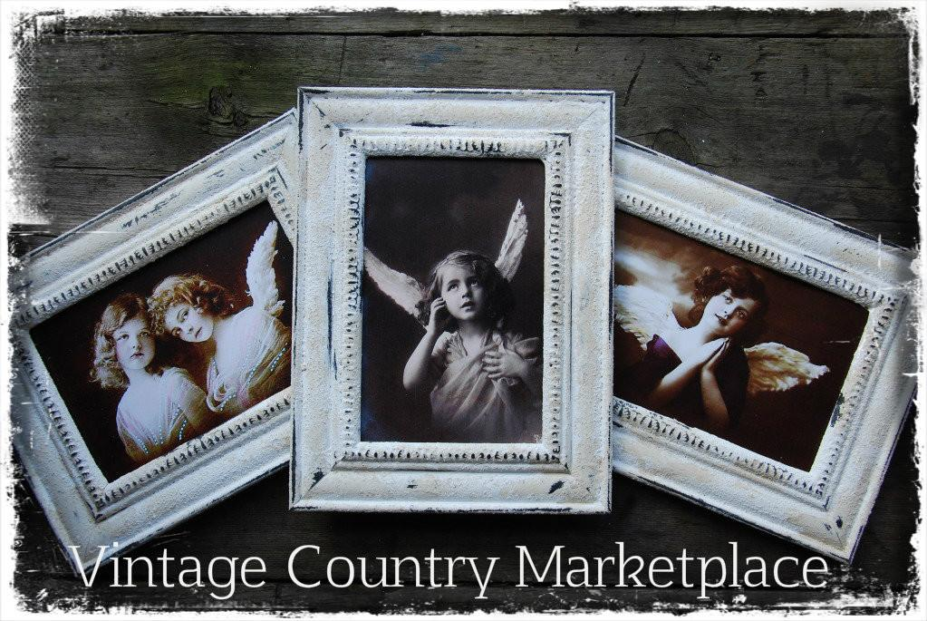 Vintage Country Style Farm Chippy Frames Diy