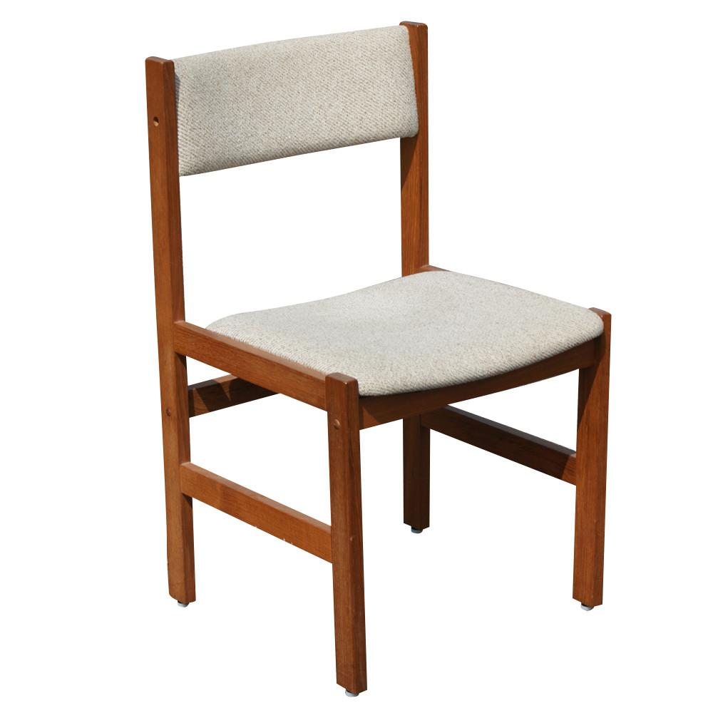 Vintage Danish Teak Extension Dining Table Chairs