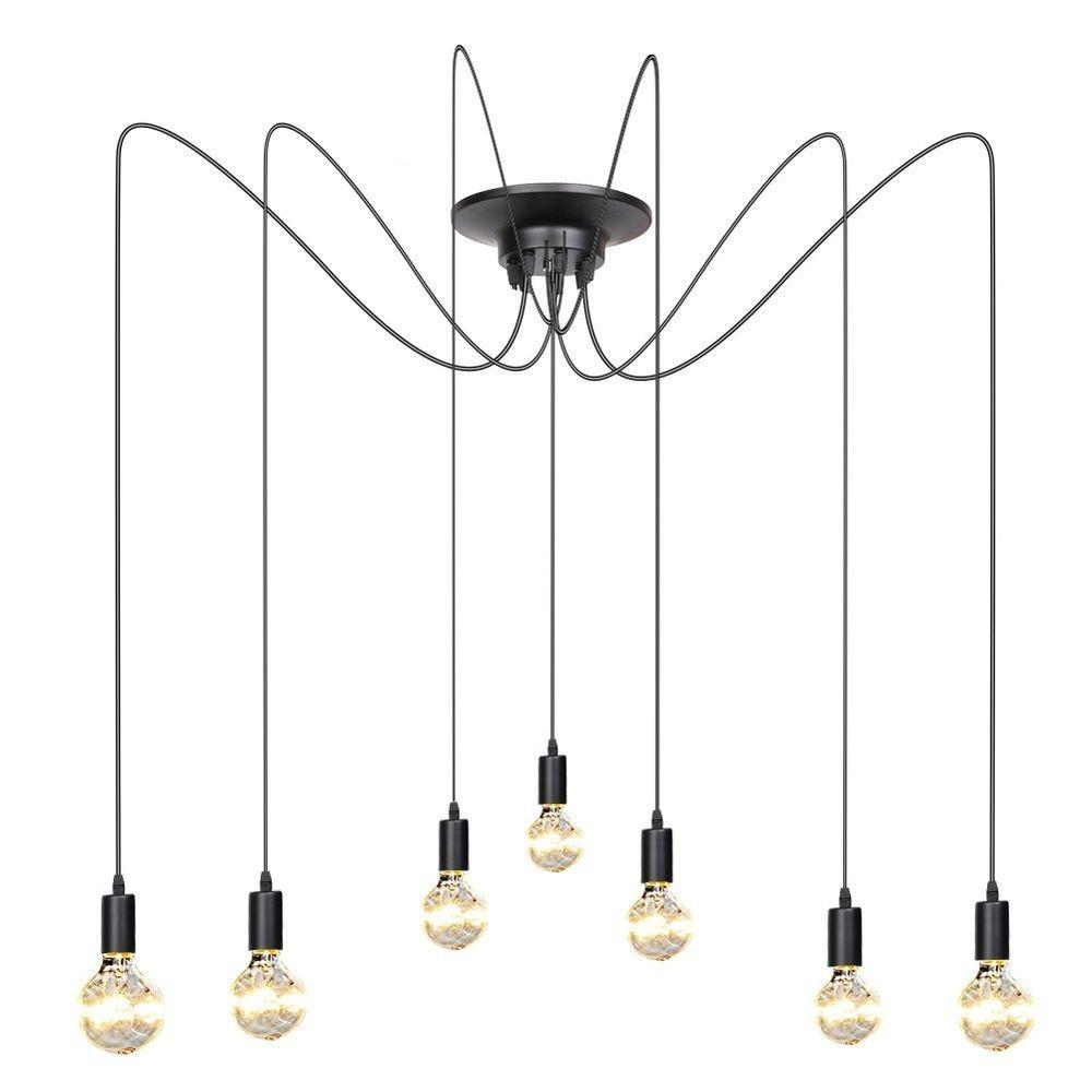Vintage Edison Industrial Loft Pendant Lighting Chandelier