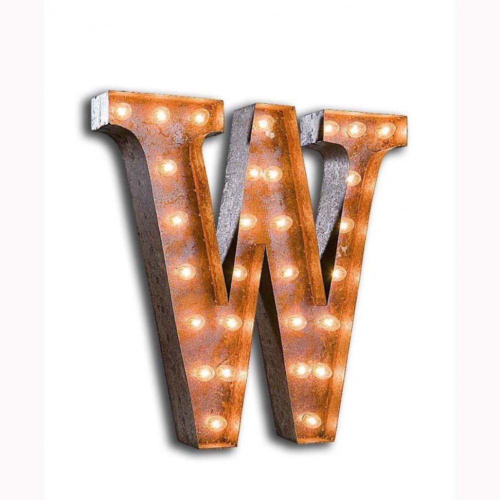 Vintage Finished Marquee Light Showtime Store