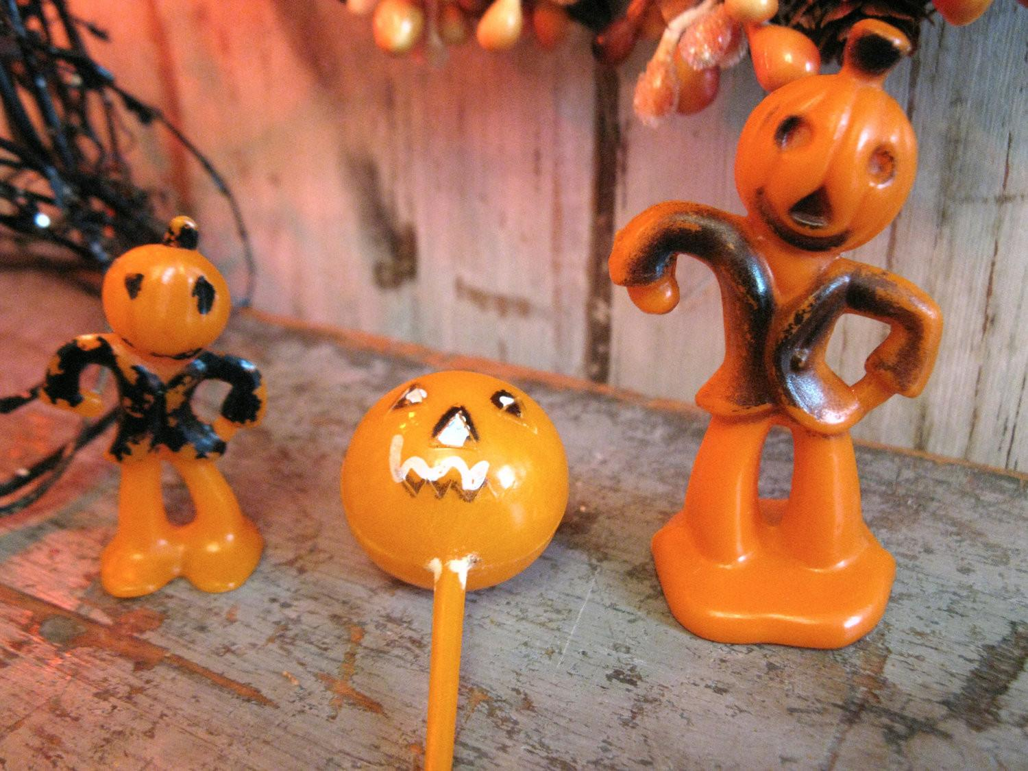 Vintage Halloween Cake Decorations Jack Antiqueshopgirl