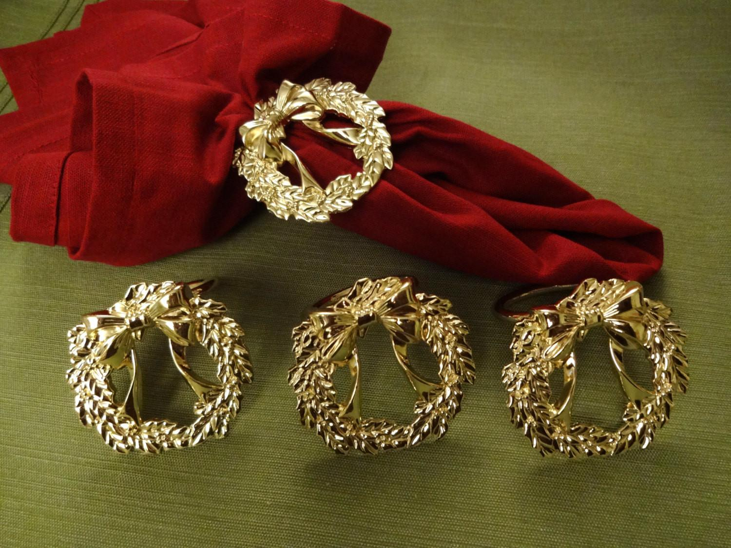 39 Exciting Christmas Napkin Rings You Ll Fall In Love Photos Decoratorist
